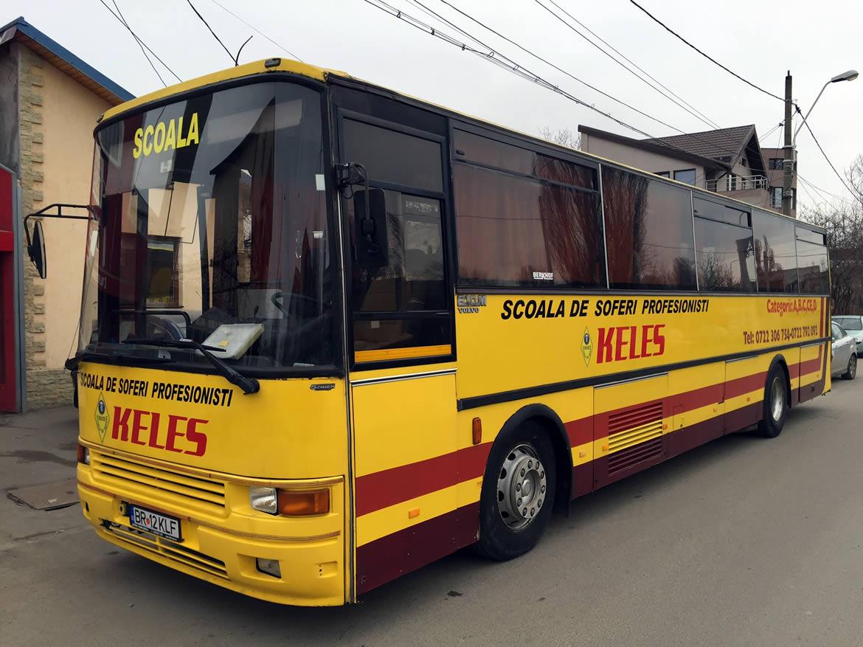 Autobuz scoala, categ D, Keles