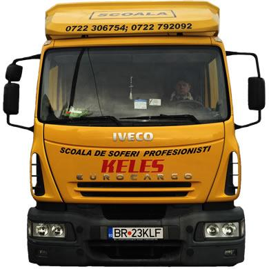 Camion scoala Keles